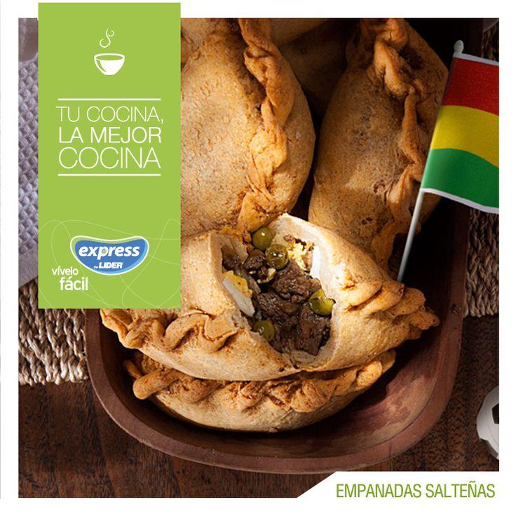 Bolivia: Empanadas Salteñas #Recetario #Receta #RecetarioExpress #Lider #Food #Foodporn #Empanadas #Salteñas #Bolivia