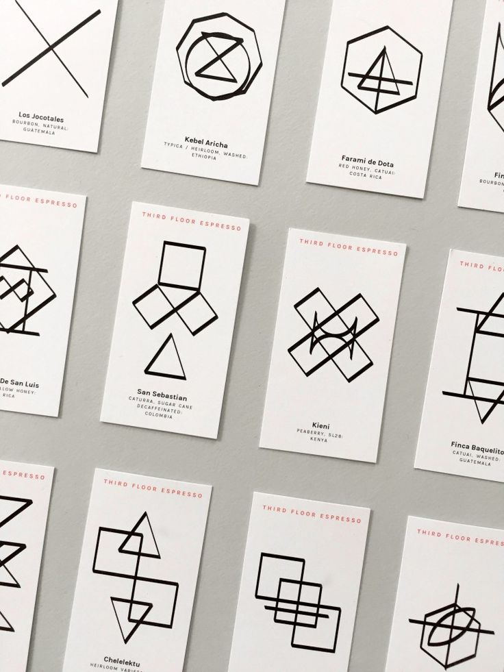 3FE – Coffee Cards - 100 Archive