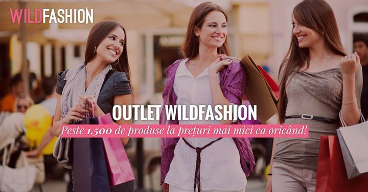 Cauti reduceri?🤔😲   Vezi ce ti-am pregatit in Outlet: 👇  http://www.wildfashion.ro/outlet?utm_campaign=CE.1.C.V.18.&utm_medium=ORG.PC.social&utm_source=facebook