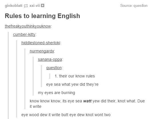 When they discovered translating between American and ...