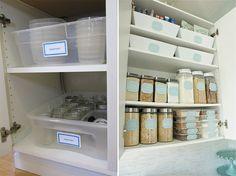 Organize cada cômodo #1: ideias para organizar a cozinha - Casinha Arrumada