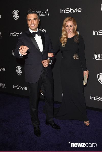 Actor Jaime Camil (L) and Heidi Balvanera attend the 2015 InStyle And Warner Bros. 72nd Annual Golden Globe Awards Post-Party at The Beverly Hilton Hotel on January 11, 2015 in Beverly Hills, California.  (Photo by Jason Merritt/Getty Images)
