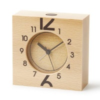 タカタレムノス目覚まし時計12+6(トゥエルヴ・プラス・シックス)