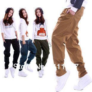 baggy pants,Truce Pants,Casual Cargo Pants&Capris Plus Size Harem Pants for women  $36.00