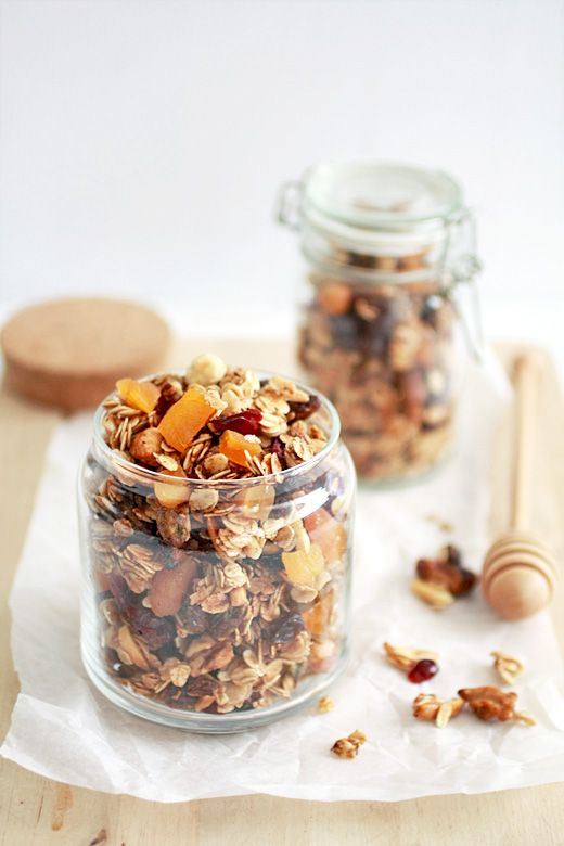 Homemade Granola #recipes