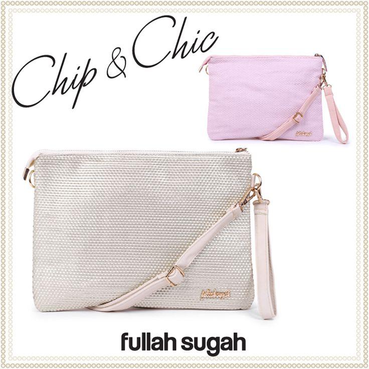 Chip & Chic Φάκελος με πλεκτό πάνελ | Από €26.90 τώρα €16.90 Shop now at: http://bit.ly/VbC0LV  #sales #bag #fashion