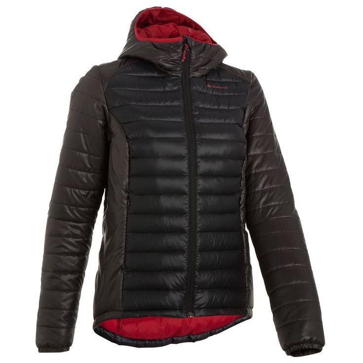 €39,95 - Abbigliamento escursionismo donna - Piumino montagna donna X-LIGHT nero - QUECHUA