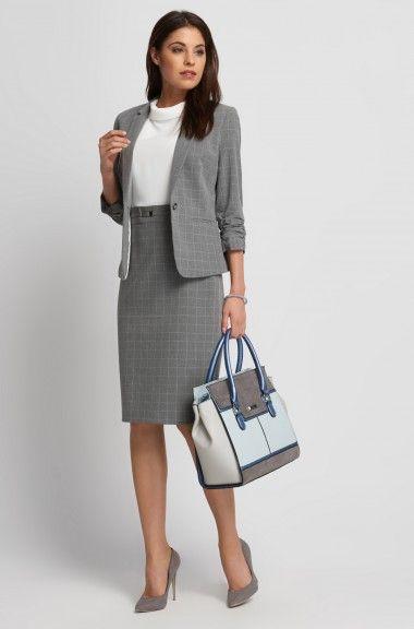 Puzdrové šaty so sukňou s károvaným vzorom | ORSAY
