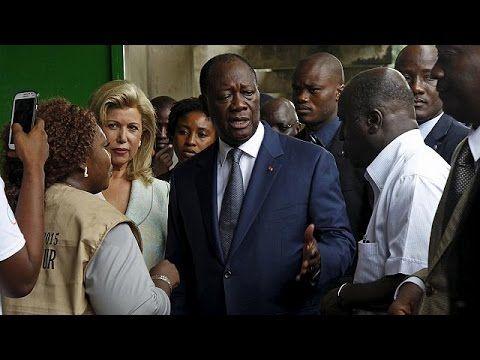 Кот д'Ивуар: Уаттара идёт на второй президентский срок - YouTube
