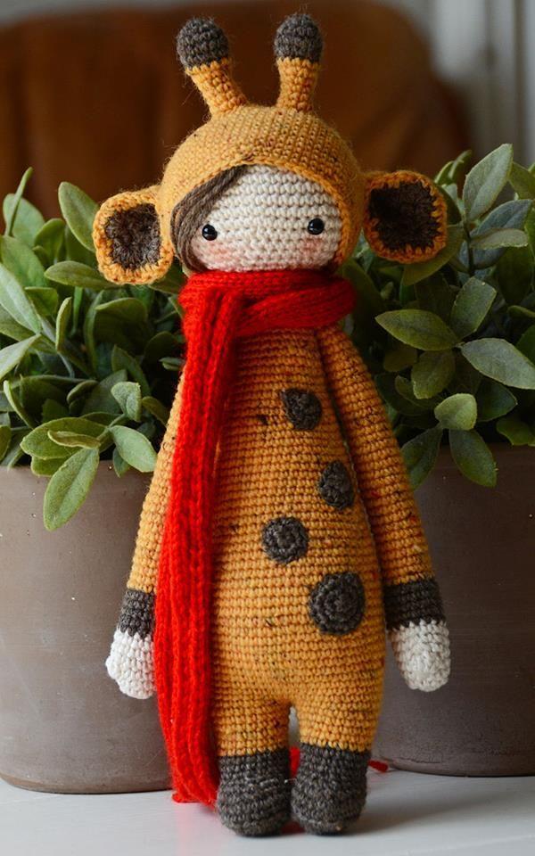 Giraffe mod made by Kristel D. / based on a lalylala crochet pattern