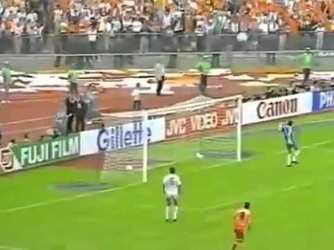 Goal Marco van Basten in the Euro 1988 final