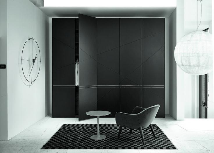 Milan_April 2014 Daniel Libeskind for Poliform Varenna - Sharp wardrobe