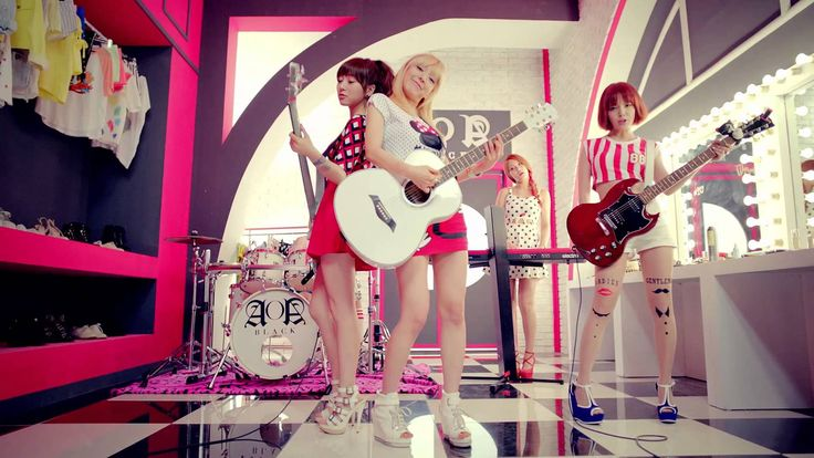 AOA BLACK - MOYA (모야) #Music
