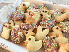 Biscotti di pasqua decorati. Ricetta passo passo. | Kikakitchen