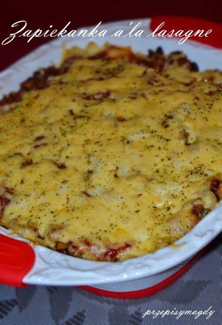 Przepisy Magdy: Zapiekanka a'la lasagne