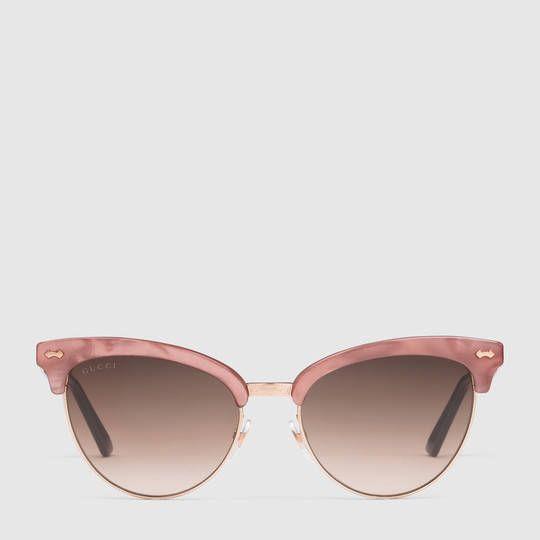 Gucci Femme - Lunettes de Soleil cat eye - 434072I33305565
