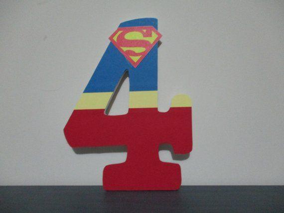 SUPERMAN NUMBER - 1800 per number, 8-1/2\
