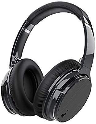 8394b48b214 Zhicity Active Noise Cancelling Bluetooth Headphones with Mic, Stereo Wireless  Headset with Microphone & Comfortable Earpads & 12 Hours Playtime & Wireless  ...