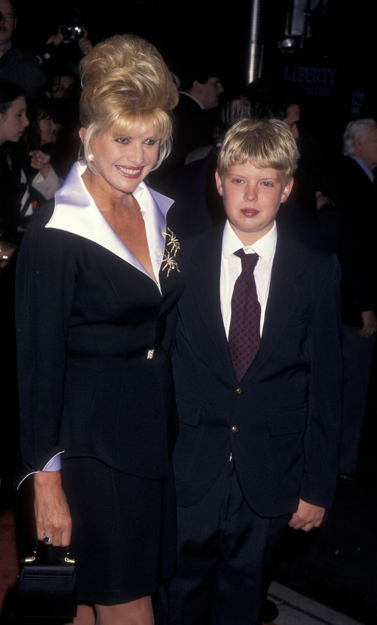 Eric attended The Hill School, a strict boarding school in Pottstown, Pennsylvania.  Caption: Ivana Trump and Eric Trump in 1996. (Getty)  via @AOL_Lifestyle Read more: http://www.aol.com/article/news/2016/11/27/first-family-getting-to-know-eric-trump/21612271/?a_dgi=aolshare_pinterest#fullscreen