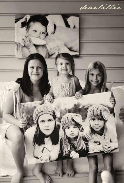 Over sized Poster Tutorial (Easiest Tutorial Ever!) Great Gift for Dad or Mom!  Take a picture of the kids, grandkids, etc.... I know I would LOVE this gift!
