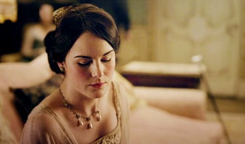 Lady Mary Crawley- the complicated, intelligent, strong-willed eldest daughter in Downton Abbey