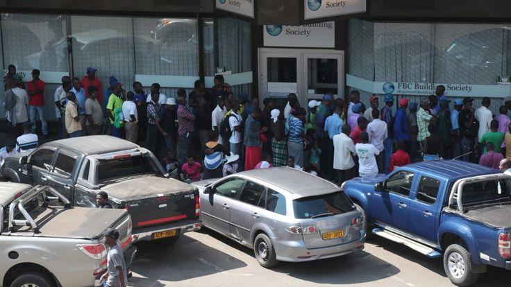 After running out of US dollar reserves, some Zimbabwean banks have limited cash withdrawals to $50 a day.