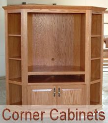 Image Detail For   Corner Cabinets Mission TV Stands Traditional TV Stands  Tall Cabinets.