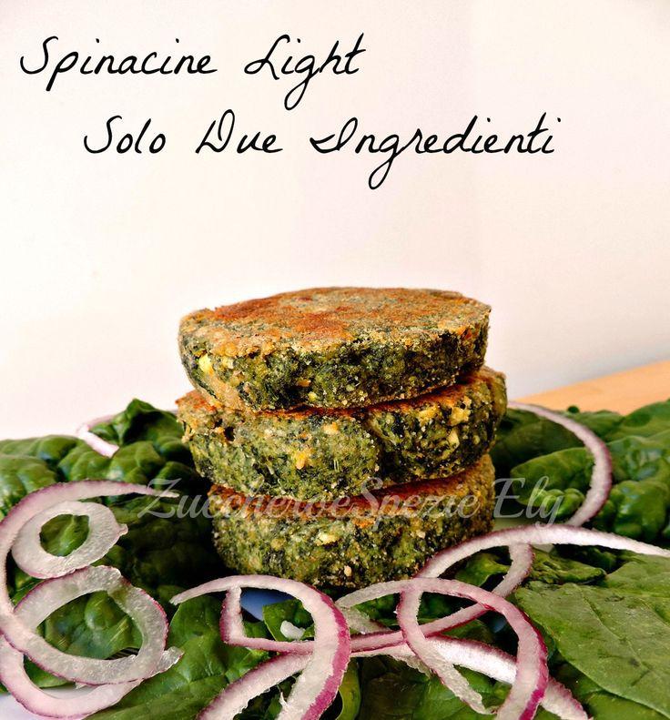 Spinacine light Ricetta facile