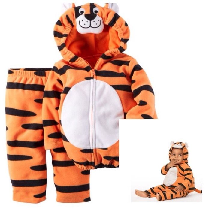 Carter's Infant boys Teeny Tiger Halloween Costume Set Mult.Szs. MSRP $38.00 #Carters #CompleteOutfit