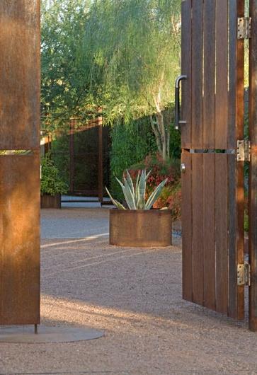 Desert Garage Doors Az Of Mesa Butterfly Roofed Retreat
