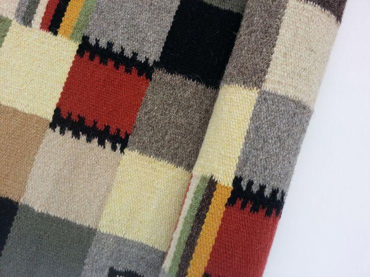 Valdinia - rustic decor - Romanian folk art - handmade wool rugs