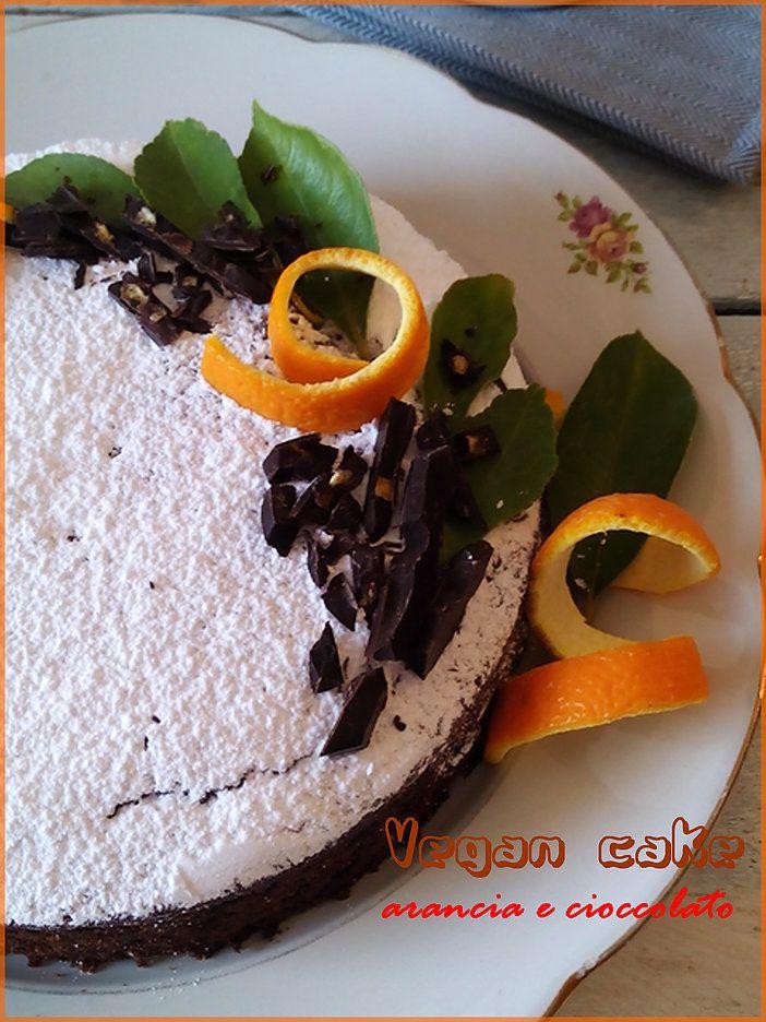 Crazy cake all'arancia - Torta al cioccolato e arancia durante la depressione americana