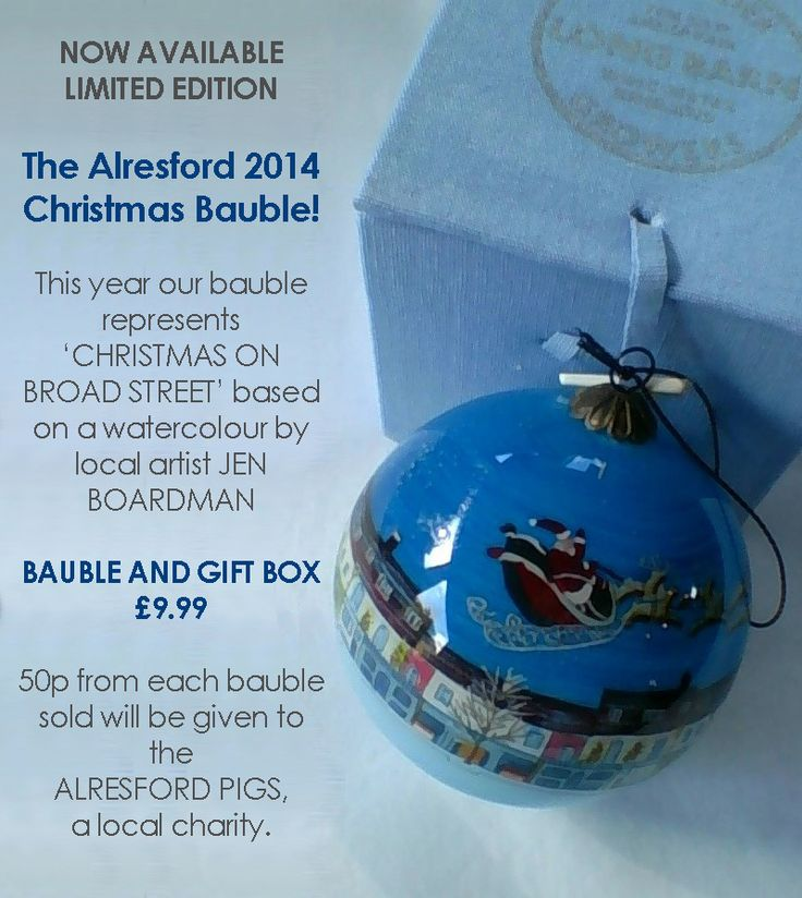 The Alresford Christmas bauble