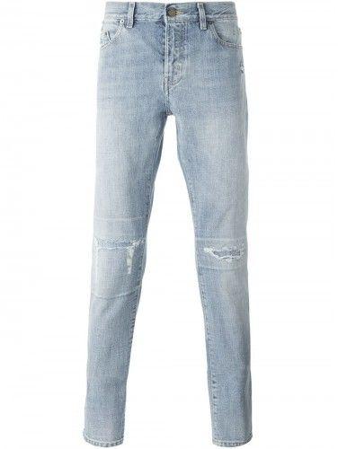 Saint Laurent stonewashed jeans