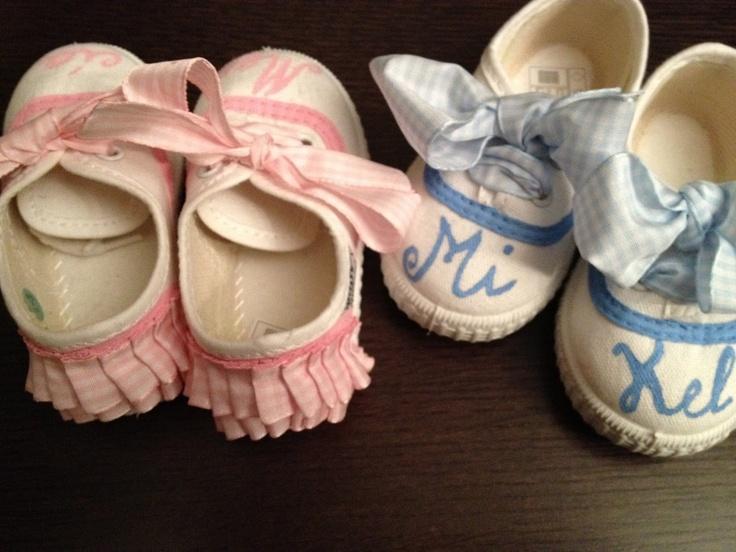 Zapatillas y Alpargatas pintadas a mano