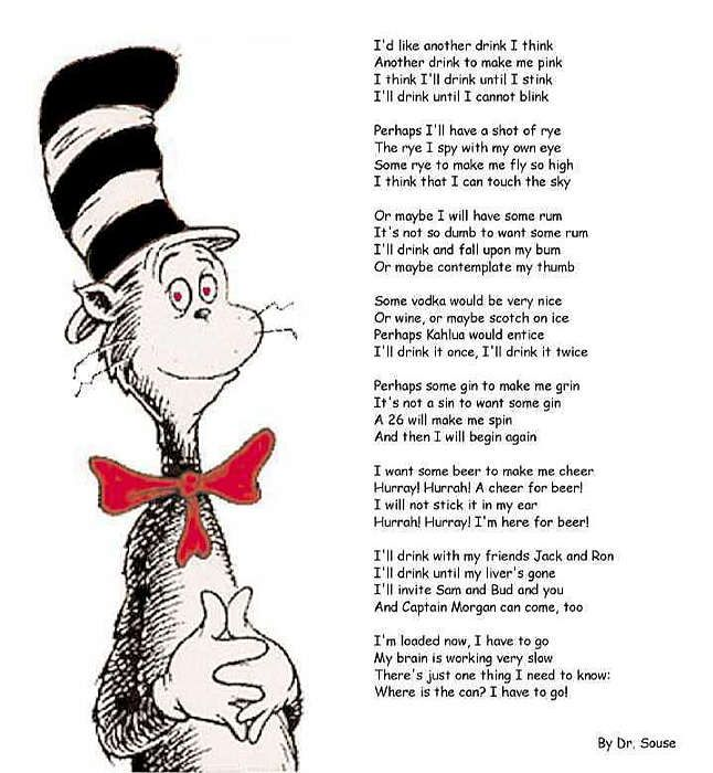 Dr Seuss Quotes About Friendship: Funny Quotes About Friendship And Drinking