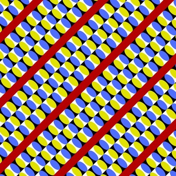 Take a look at this amazing Blue and Yellow Moving Optical Illusion illusion. Browse and enjoy our huge collection of optical illusions and mind bending images and videos.