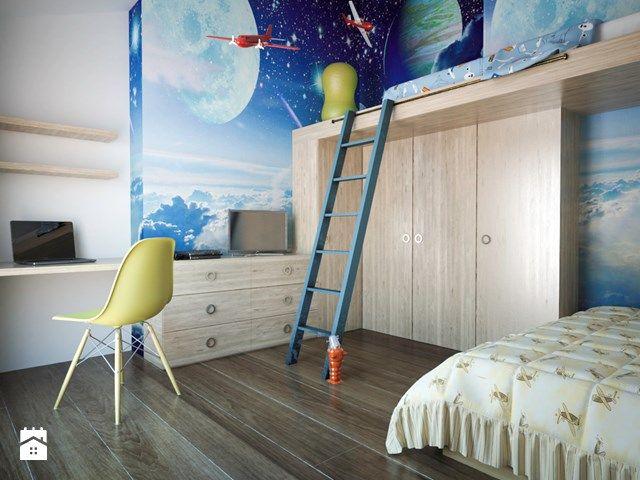 łóżko piętrowe , kosmos
