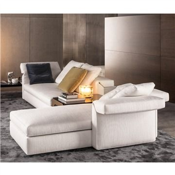 Minotti Collar Sectional Sofa   Style # Collar, Contemporaty Sectional Sofas  | SwitchModern