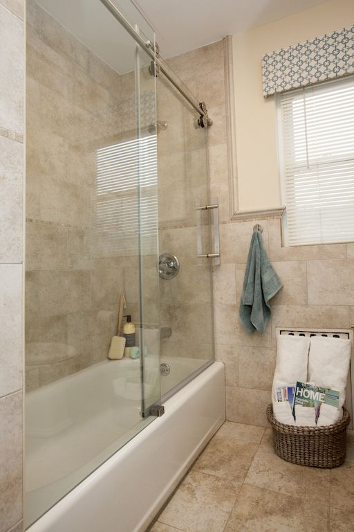 Bathroom | Glass Shower Stall & Door | Slik Portfolio/Klaff's