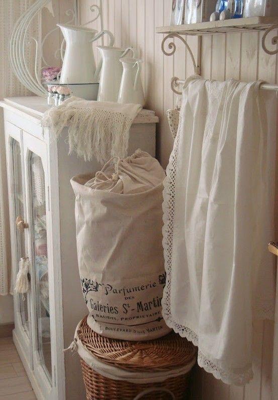 shabby chic laundry room