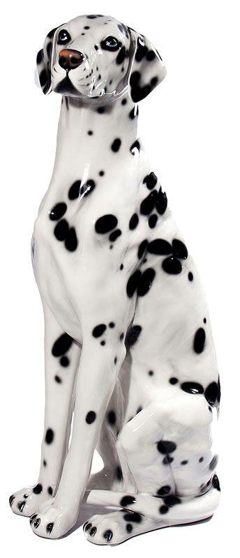 Life-Size Dalmatian Sculpture