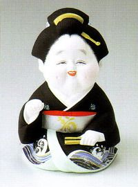 お福さん(新小)・博多人形(日本人形) 七福神・招き猫・お福さん・お地蔵さん・福助・恵比寿・大黒天・布袋・弁財天【楽天市場】