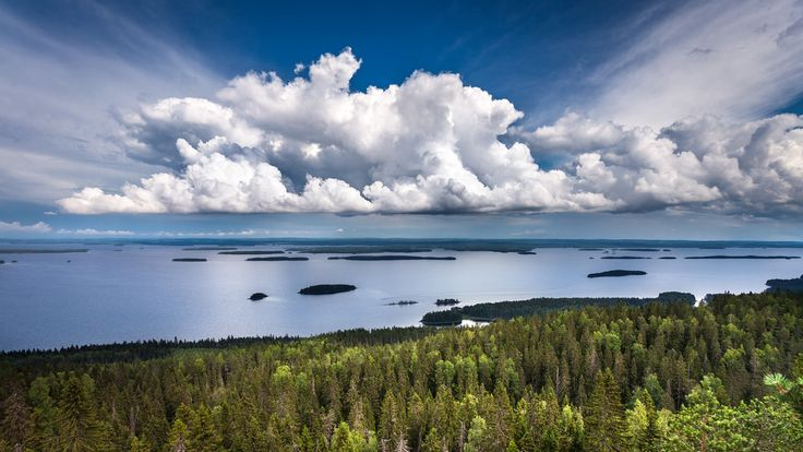 Koli National Park, Finland Shot with Canon EOS 5D Mark II, Canon EF 17-40mm f/4L and Lee GND 0.6 hard filter, processed with Lightroom and Photoshop CC 2015.