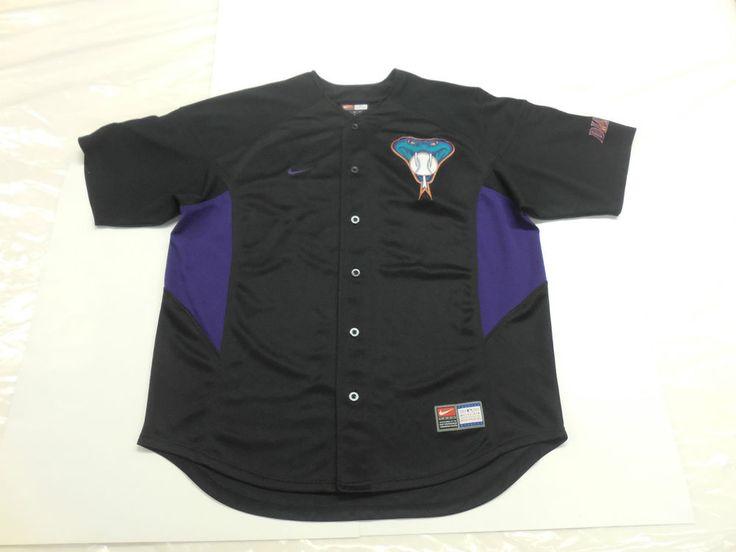 MLB Arizona Diamondbacks Shawn Green #15 VINTAGE Jersey by NIKE, Men's XL  #Nike #ArizonaDiamondbacks