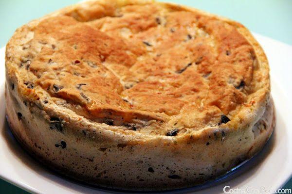 Pan casero de aceitunas negras, sin gluten | #Recetas de cocina | #Veganas - Vegetarianas ecoagricultor.com