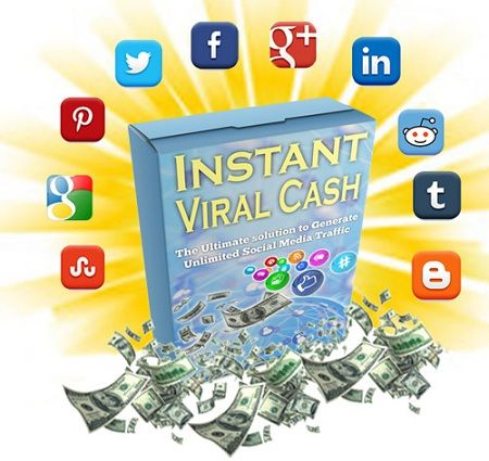 Instant Viral Cash – what is it? Instant Viral Cash is the first and only software that utilize the power of facebook, twitter, pinterest etc and enable you to monetize viral Content in multiple ways!