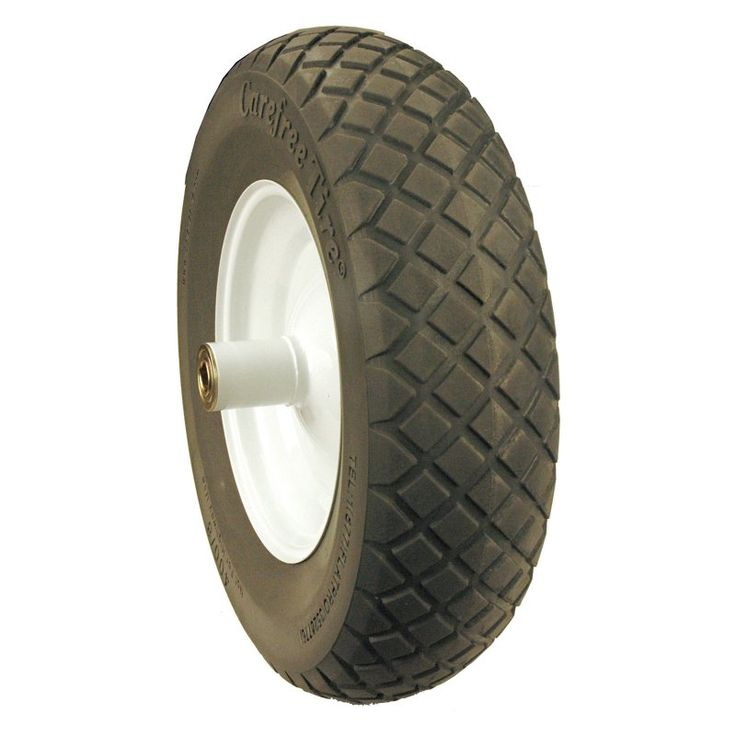 Maxpower Flat Proof Wheelbarrow Wheel - 1352-2909