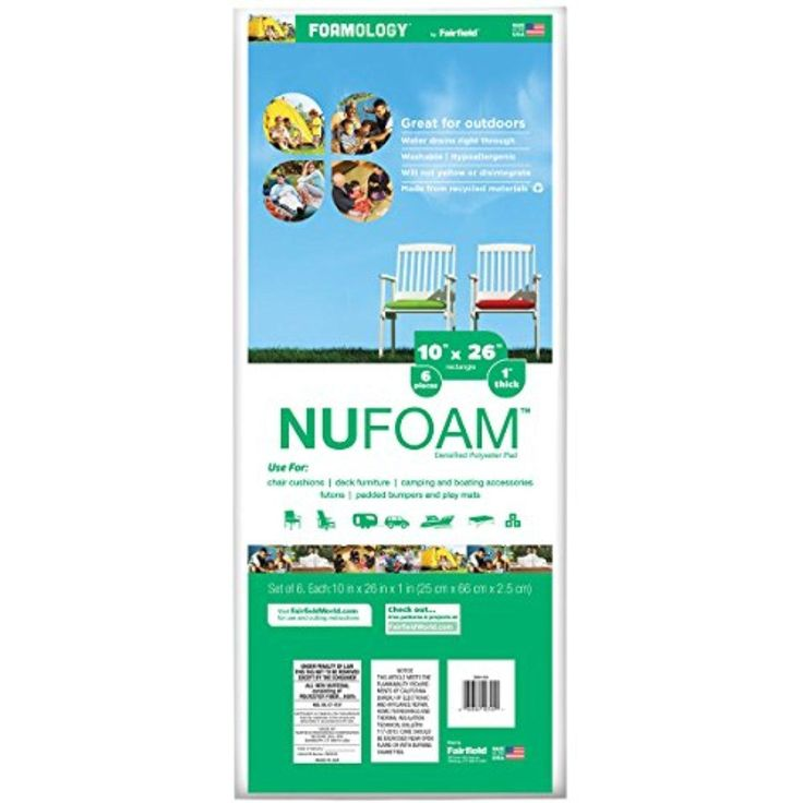 "Poly-Fil Nu-Foam Baby Bumper Pads 6/Pkg-26""X10""X1"" FOB: MI - Brought to you by Avarsha.com"