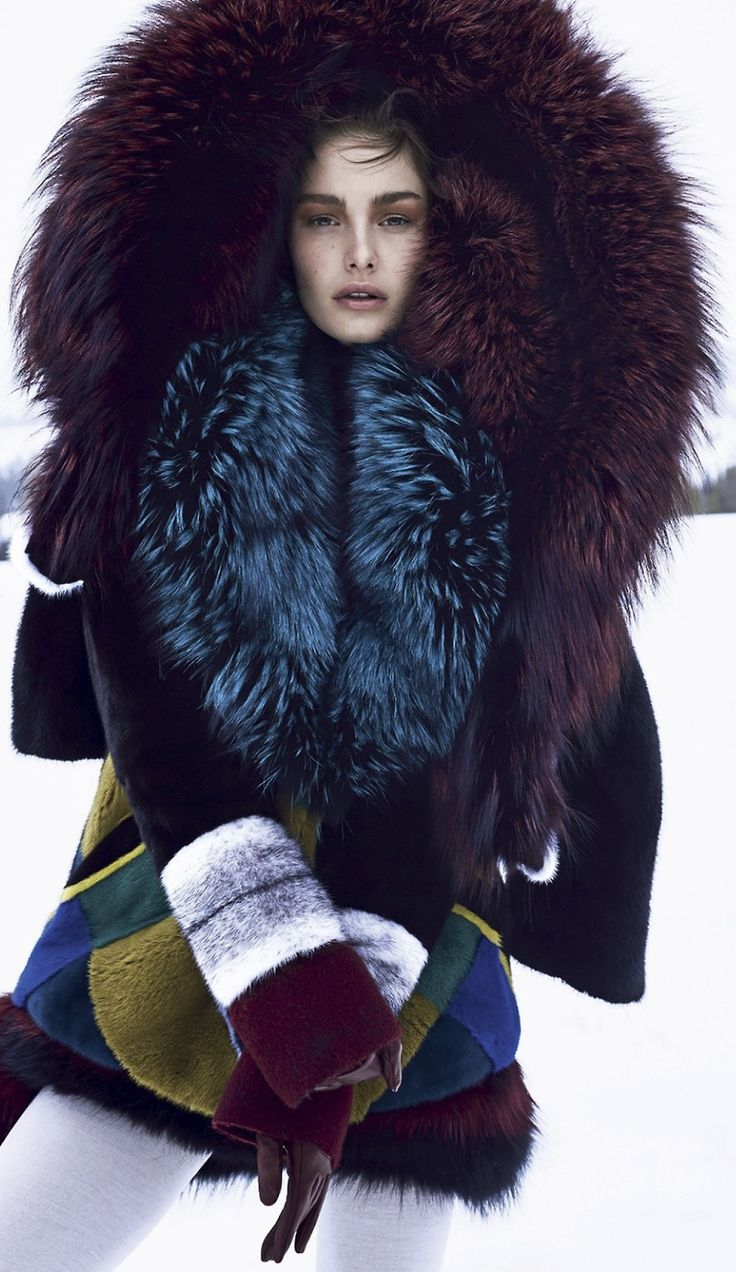 """Ophelie Guillermand in """"The Next Big Thing"""" by Nathaniel Goldberg for Harper's Bazaar, October 2014"""